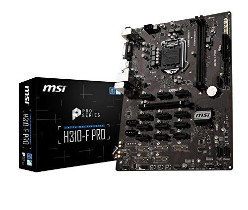 MSI H310-F PRO ATX マイニングマザーボード  Intel H310チップ搭載  MB4375