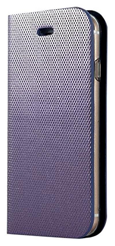 昆虫を見る書く未就学【DaOn正規品】iPhone 8/7 Metal Square Diary Case【カラー:ソフトパープル】iphone8 iphone7 iphone レザーケース 手帳型ケース 横開き 耐衝撃 PUレザー カバー 財布型 スマートフォンケース iPhone DAON1066
