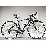 Bianchi(ビアンキ) ロードバイク ヴィアニローネ ティアグラ (マットブラック/ブラックロゴ) (50サイズ) 2016年モデル VIA NIRONE 7 PRO TIAGRA