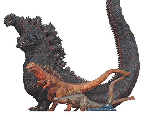 東宝怪獣コレクション 第31弾 シン・ゴジラ 塗装済み 完成品 フィギュア 4体セット 一部組み立て式