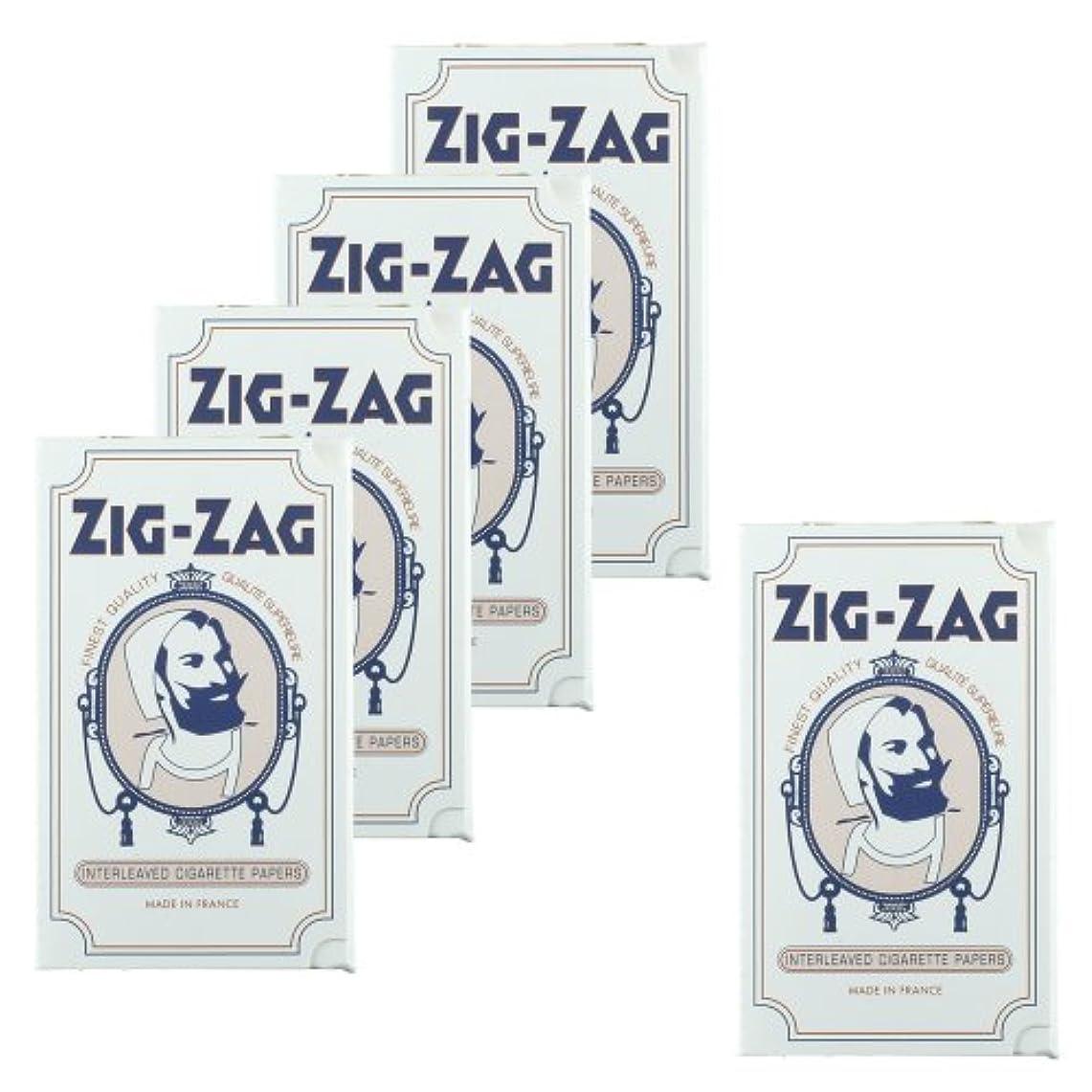 パントリーショート移動する柘製作所(tsuge) ジグザグ クラシックホワイト 32 【スローバーニング ? 32枚入り】 #78845 ×5パック