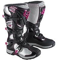 Fox フォックス Comp 5 Womens Boots オフロードブーツ 2013モデル ブラック/ピンク 10(26cm)