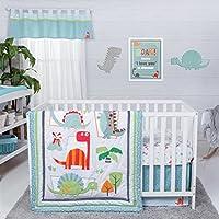 Trend Lab Dinosaur Roar 3 Piece Crib Bedding Set Multi [並行輸入品]