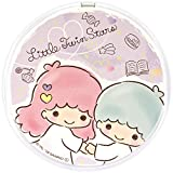 グルマンディーズ サンリオキャラクターズ Qi ワイヤレスチャージャー キキ&ララ パープル san-957ts