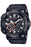 [カシオ] 腕時計 ジーショック Bluetooth 搭載電波ソーラーFROGMAN カーボンコアガード構造 GWF-A1000XC-1AJF メンズ ブラック