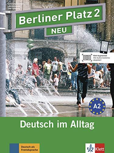 Berliner Platz NEU: Lehr- und Arbeitsbuch 2 mit 2 CDs