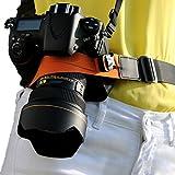 Ueasy 一眼レフカメラストラップ デジカメ ストラップ 全3色(オレンジ) [並行輸入品]