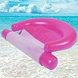 浮き輪 子供用 耐荷重100K 65  125 CM 折りたたみチェアベッド ウォーターラウンジチェア インフレータブルフローティングベッド 便利に携帯 可愛い スイカ 海水浴 プール 海フロート