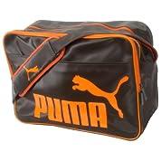 PUMA(プーマ) ショルダーL ブラックコーヒー×チームオレンジ 05 869030