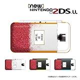 New ニンテンドー 2DS LL 対応 カバー ケース 香水 perfume 赤色 メタルキャップ