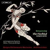 ストラヴィンスキー:「火の鳥」全曲(1910年版) 他 (Stravinsky : The Firebird - complete ballet - and arrangement of works of works by Sibelius, Tchaikovsky & Chopin / Bergen Philharmonic Orchestra, Andrew Litton) [SACD Hybrid]
