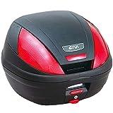 GIVI(ジビ)【イタリアブランド】 モノロックケース(トップケース/リアボックス) 未塗装ブラック 39L E370ND 68051 高性能&スタイリッシュデザイン