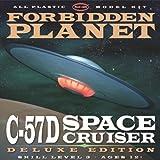 プラッツ 1/144 「禁断の惑星」C-57D スペースクルーザー アンドロメダ号 デラックスエディション プラモデル