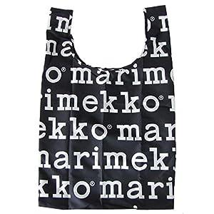 マリメッコ marimekko マリロゴ MARILOGO ブラック 買い物袋 エコバック 41395 910 【並行輸入】 41395 910