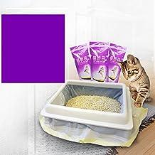 ETbotu 1 Bag of (7PCS) Cat Litter Bag Kitten Hygienic Litter Box Liners Pet Supplies (Large)