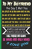 To My Boyfriend the Day I Met You: I Found My Missing Piece  Cute Valentines Day Gifts for Boyfriend, Couples Gifts for Boyfriend From Girlfriend