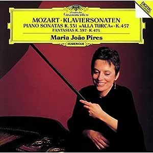 モーツァルト:ピアノ・ソナタ第11番「トルコ行進曲付き」&第14番、他