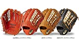 アシックス ベースボール ASICS 軟式 グラブ ゴールドステージ ロイヤルロード 外野手用 BGR7CV (2227)Rオレンジ×ライトブラウン 右投用(LH)