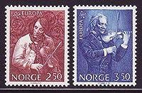 北欧 ノルウェー切手 1985年 音楽