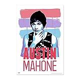 来日記念 AUSTIN MAHONE オースティンマホーン - Brush Stroke Poster / ポスター 【公式 / オフィシャル】