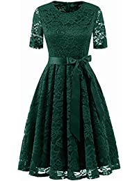 80d1ea9728693 Amazon.co.jp  グリーン - パーティードレス   ワンピース・ドレス  服 ...