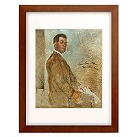 ロヴィス・コリント Lovis Corinth 「Portrat Franz Heinrich Corinth, der Vater des Kunstlers」 額装アート作品