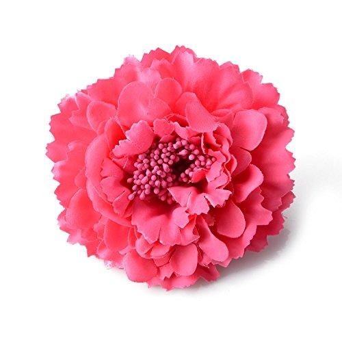 moiitee ヘッドドレス 髪飾りお花 ヘアクリップ ヘア...