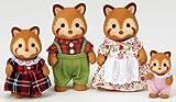 シルバニアファミリー 人形 レッサーパンダファミリー FS-01