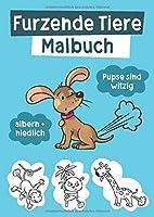 Furzende Tiere Malbuch: Witzige Ausmalbilder fuer Kinder und Erwachsene