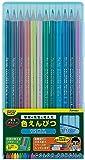 レイメイ藤井 先生オススメ 色鉛筆 12色 ブルー RE711 【まとめ買い10個セット】