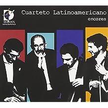 Encores (Works By Gnattali/ Sierra/ Golijov/ Scodanibbio/ Sanchez-Gutierrez) by Cuarteto Latinoamericano (2010-04-27)