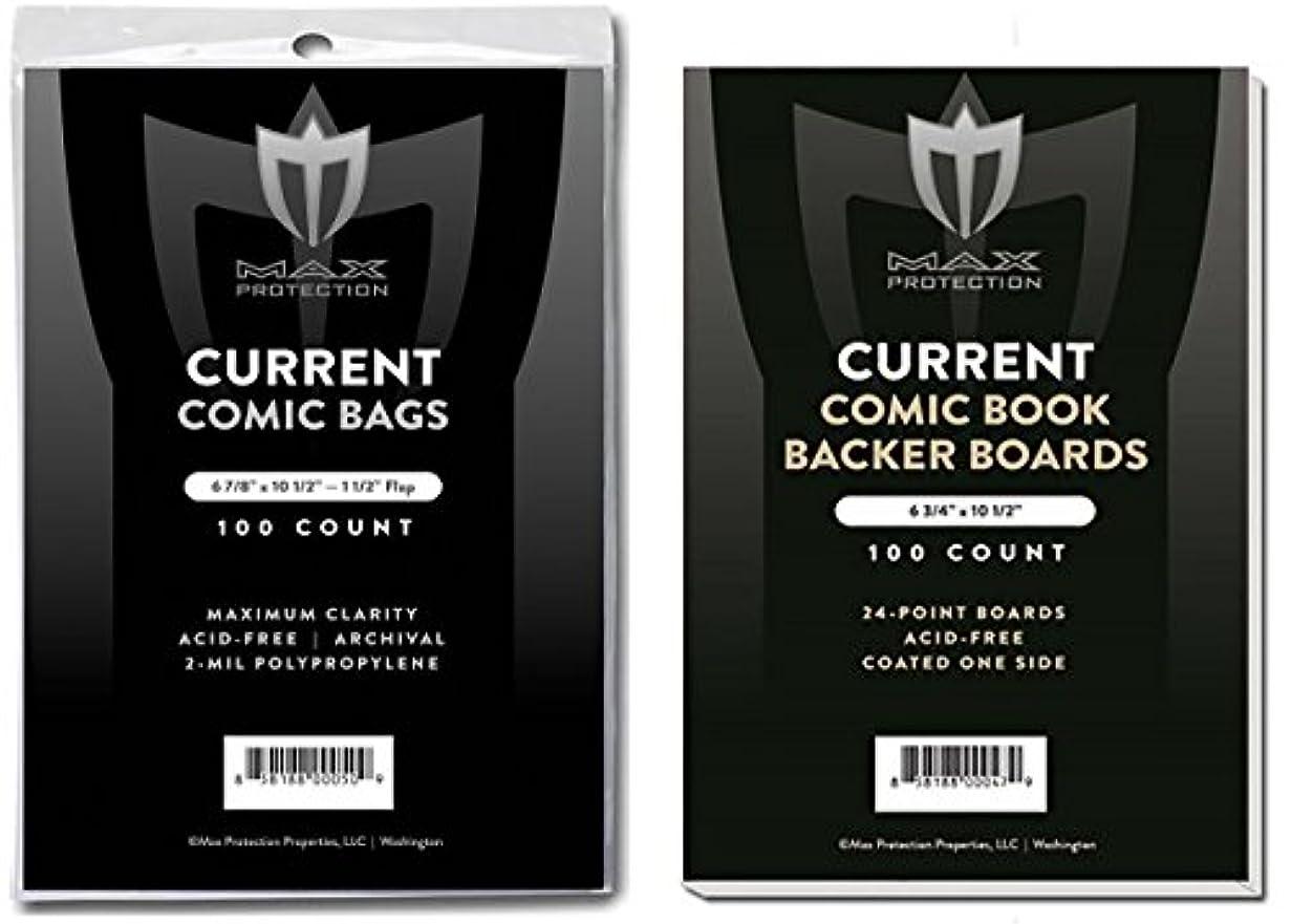 実現可能性言語学必要性(500) Current Size Ultra Clear Comic Book Bags and Boards - by Max Pro (Qty= 500 Bags and 500 Boards)