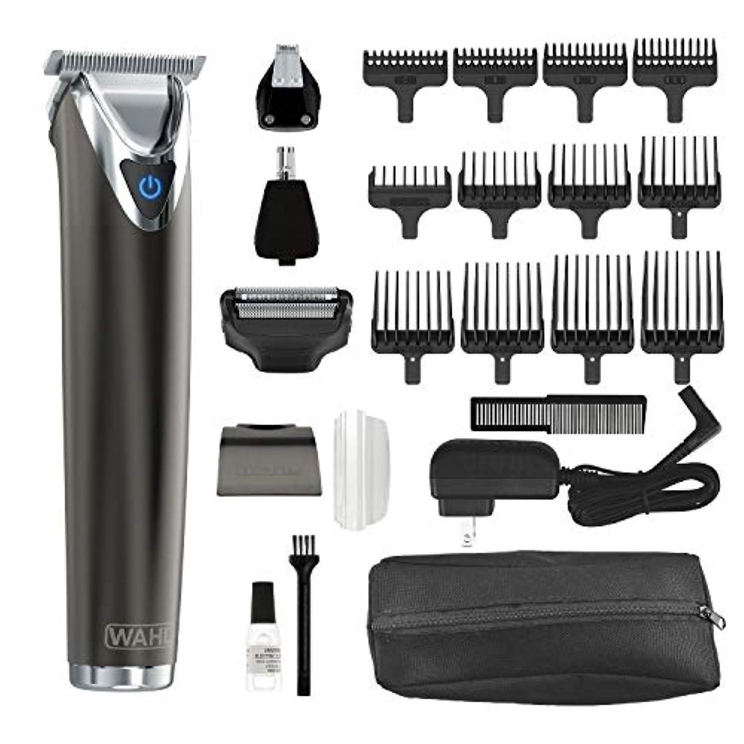 病弱看板天皇Wahl Clipper Slate Stainless Steel Lithium Ion Plus Beard Trimmers for Men, Electric Shavers, Nose Ear Trimmers...