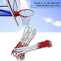 t-bestバスケットボールネット、壁マウントHangingバスケットボールゴールフープRim Net Heavy Duty屋内または屋外のバスケットボールフープ3色
