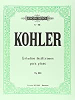 12 ESTUDIOS FACILISIMOS OP.151.(PIANO).(REF:EI0070)