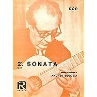 [冊子][楽譜]ANDRES SEGOVIA / FERNANDO SOR 2a. SONATA Op. 25 (セゴビア)