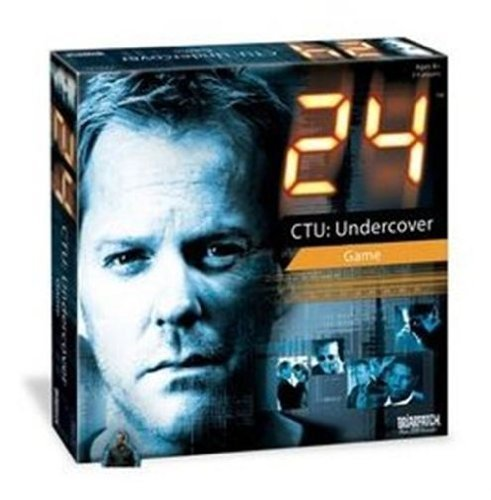 24 CTU Undercover Game by University Games [並行輸入品]