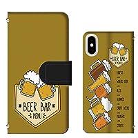 Google Pixel 3 G013B ミラータイプ ビール beer menu メニュー パロディ 手帳型カバー [FFANY] menu@t110@03
