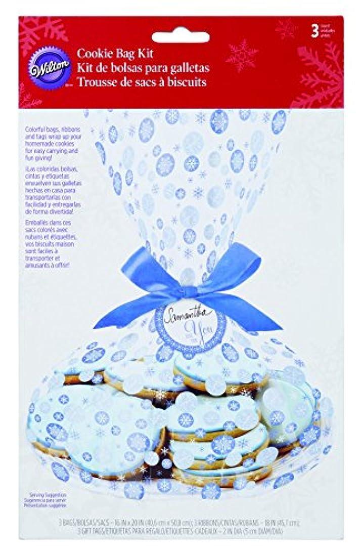 広々としたモチーフ摂氏度Cookie Bag Kit Makes 3-Snowfall (並行輸入品)