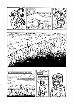 I walk with turning on only the front. 1page comics