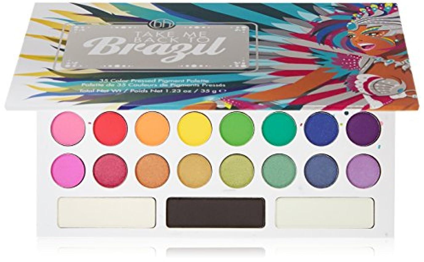さびたセクション明日BH Cosmetics Take Me Back To Brazil - 35 Color Pressed Pigment Palette