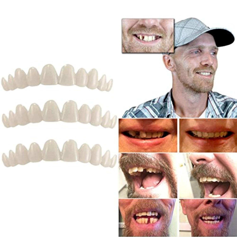 inverlee一時的な歯のキット自然Veneer交換Missing歯カバーDIY安全簡単