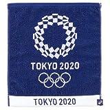 東京 2020 オリンピック 組市松紋 エンブレム ジャガード ハンドタオル