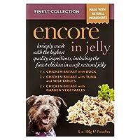 [Encore ] ゼリー5のX 100グラムでアンコール最高級のコレクション犬のポーチ - Encore Finest Collection Dog Pouch in Jelly 5 x 100g [並行輸入品]