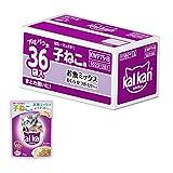 【Amazon.co.jp限定】カルカン パウチ 12ヵ月までの子ねこ用 お魚ミックス まぐろ・かつお・たい入り 70g×36袋(まとめ買い)
