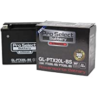 ProSelect(プロセレクト) バイクバッテリー GL-PTX20L-BS (YTX2 0L-BS互換) ジェルタイプ 液入充電済み 1個 365日メーカー保証付き
