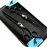 7.0 inch Professional Hairdressing Cutting&Thinning Scissor Barber Texturizing/Blending Shears for Hairstlist or Home Use