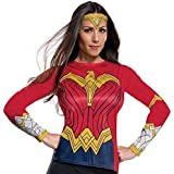 Rubie's womens 820513 Wonder Woman Adult Costume Top Party_Supplies - multi