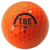 【Amazon.co.jp 限定】トビエモン(TOBIEMON) ゴルフボール R&A公認球 2ピース 12球入 オリジナルメッシュバック入 オレンジ 画像