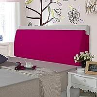 LIANGJUN クッション ベッドサイド 背もたれ枕 三角形 枕 コットン ウォッシャブル 柔らかい 実用的な 読書 残り 壁に貼り付ける ベッドルーム ベッド 背もたれ、 8色 (色 : 5#, サイズ さいず : 60X50X12cm)